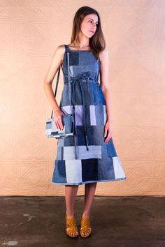 $595 Kente Dress - SilkDenim