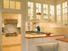 Open kitchen / closed kitchen