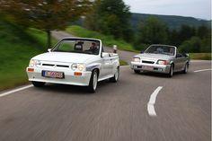 Irmscher Opel Corsa Spider i130 und Ascona Cabrio ☺
