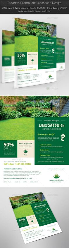 Business Promotion: Landscape Design