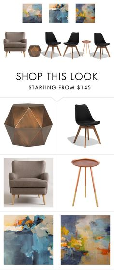 """waiting area/ Lina A"" by emoui on Polyvore featuring interior, interiors, interior design, home, home decor, interior decorating, Safavieh and Cost Plus World Market"