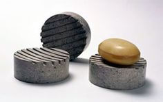 Soap holder from recycled paper called Shetkastone.