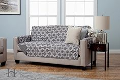 Adalyn Collection Deluxe Reversible Quilted Furniture Protector. Beautiful Print on One Side / Solid Color on the Other for Two Fresh Looks. By Home Fashion Designs Brand. (Sofa, Charcoal)  BUY NOW     $37.49    Dress your furniture in sophistication with the Adalyn Collection Deluxe Reversible Quilted Furniture Protector. With its beau ..  http://www.homeaccessoriesforus.top/2017/03/12/adalyn-collection-deluxe-reversible-quilted-furniture-protector-beautiful-print-on-one-side-s..