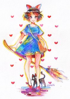 """""""I've watched Kiki's Delivery Service just recently and it's so wonderful ; A ;""""…"""