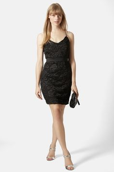 TOPSHOP | Strappy Lace Dress | Nordstrom Rack