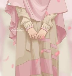 S kut-u Lisan Selameti nsan Hijabi Girl, Girl Hijab, Muslim Girls, Muslim Women, Muslim Couples, Girl Cartoon, Cartoon Art, Hijab Drawing, Moslem