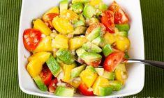 Mangosalsa med tomat och avokado Lchf, Fruit Salad, Food Inspiration, Love Food, Tacos, Food And Drink, Favorite Recipes, Healthy Recipes, Gourmet