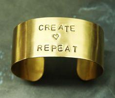 Custom Brass Cuff