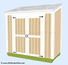 Small Lean-to Storage Shed Plans and PICS of Woodworking Plans Garden Shed. Small Shed Plans, Lean To Shed Plans, Free Shed Plans, Wood Storage Sheds, Wood Shed, Storage Shed Plans, Diy Storage, Pallet Shed, Storage Ideas