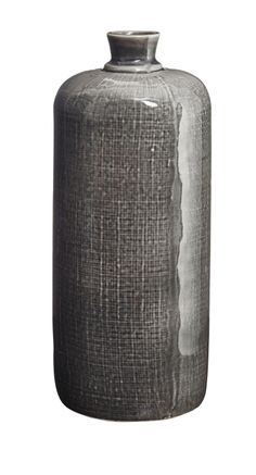 'Cylinder Textured Bottle Vase' £28 http://www.kellyhoppen.com/shop-home-jewellery/vases/cylinder-textured-bottle-vase