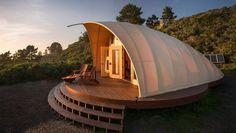 Portable tiny house- Autonomous Tent Cocoon   Outside Online