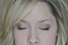 Soft and Natural Eye Makeup from thesmallthingsblog.com.    I LOVE this girl!!  Just spent the last hour and half on her site reading and watching her tutorials on hair, makeup, beauty...