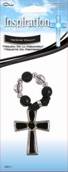 Chic® CROSS METAL WITH SCENTED BEADS - SPRING VIOLET  Item GEC-1