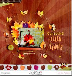 *Imagicallery*: {Scrapbooking} Collecting fallen leaves (Urban Autumn)