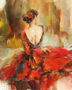 *Rhapsody of Red1* ~ by Anna Razumovskaya ♥