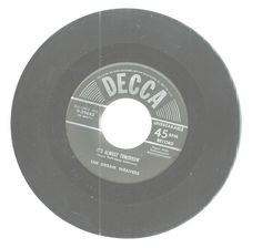 Dream Weavers Its Almost Tomorrow You've Got Me Wondering Decca Records 45 RPM   #EasyListening