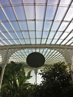 Kibble Palace in the Botanic Gardens