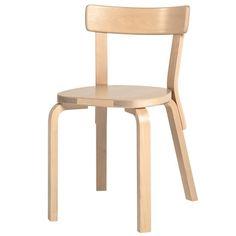 Chair 69  Marca: Artek  Dissenyador: Alvar Aalto