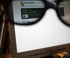 Finally you can do something with that old LCD monitor you have in the garage. You can turn it into a privacy monitor! It looks all white to everybody except ...