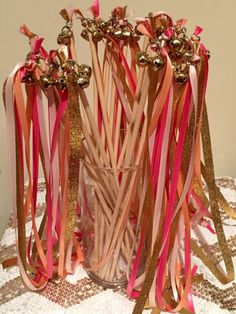 How to create ribbon wands for your ceremony!