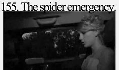 "I remember watching this on the bonus disc of fearless haha then ""romeo"" killed the spider with her cd this was halarious"
