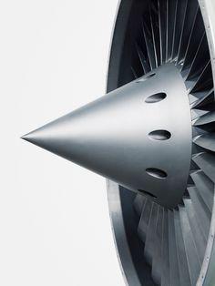 Turbine. Jet Engine.