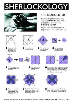 Black Lotus Origami