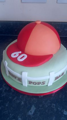 Horse racing cake- change the hat silk colours depending on the person? Add racing goggles for more detail.