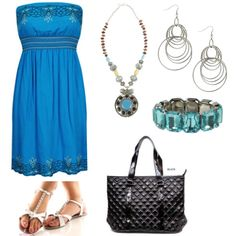 Fun blue outfits are the perfect finishing touch! Encourage everyone to participate.
