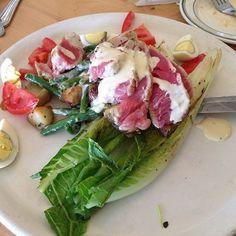 Tuna ahi salad.