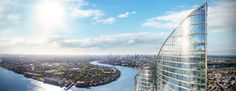 Future Cities: 13 Fresh New Visions for Residential Towers... #weburbanist #arts #street_art
