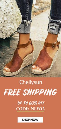 919023eab006 47 Best Chellysun Wedges Sandals images in 2019