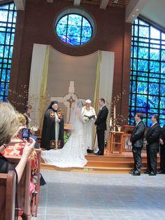 The ceremony scene