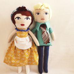 Handpainted dolls