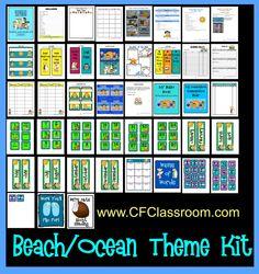 Beach / Ocean Themed Classroom