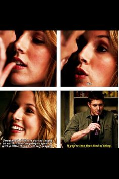 I love jo and dean !