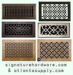 A/C Wall Register Options, Air vent love