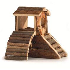 Forest Speeltoren 17 cm - DRD Knaagdierwinkel.nl #dwerghamster #russischedwerghamster #hamster