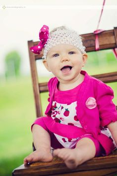 first birthday session - baby girl {copyright 2012 michelle zahn photography}