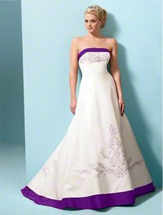 1000 images about individualist weddings on pinterest for White wedding dress with blue trim