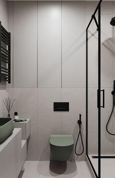 Interior Architecture, Interior Design, Contemporary Bathroom Designs, Bathroom Styling, Bathroom Inspiration, Adobe Photoshop, Photo Wall, Bathtub, House Design