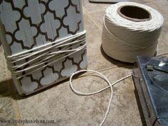 <3 this idea! diy wood block photo holders