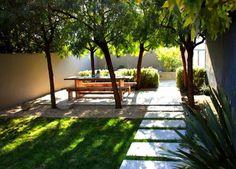 Mooie en moderne tuinindeling. Door Ietje