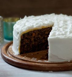 Mary Berry's been making her Christmas cake recipe for as long as Paul Hollywood's been alive. Perfect Christmas food.