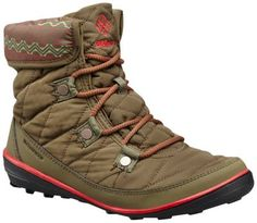 Women s Heavenly™ Shorty Omni-Heat™ Print Lace Up Boot f6e3ed117bfb