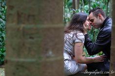 Ensaio Pré Wedding com Gislaine e Thiago no Parque Trianon em São Paulo/SP.