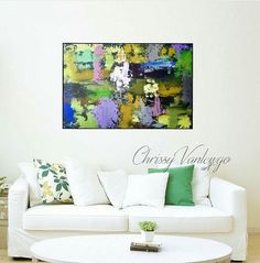 Abstract painting Abstract large painting Modern wall art
