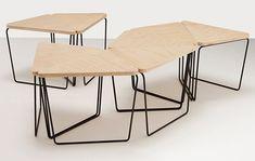 Fractal Table designed bt Nicholas Karlovasitis & Sarah Gibson