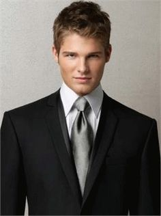 Dark Gray Suits Wedding Black suit white shirt | CHESTI DE PURTAT ...