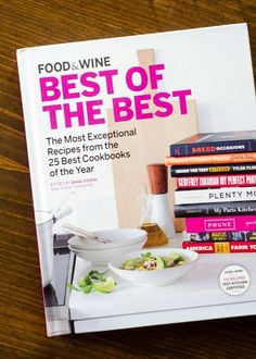 Taste the Year's Best Cookbooks with Food & Wine's Collection of Best Recipes